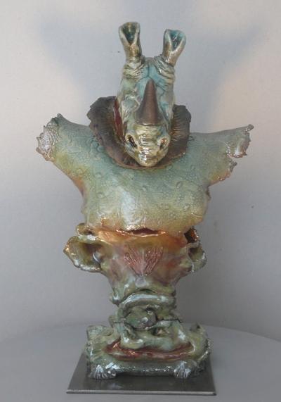 Malou raku, sculpture, céramique sur Aix-en-Provence